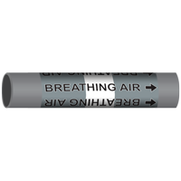 BREATHING AIR Marine Pipe Marker
