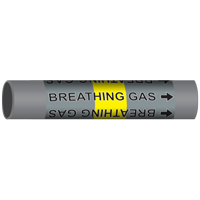 BREATHING GAS Marine Pipe Marker