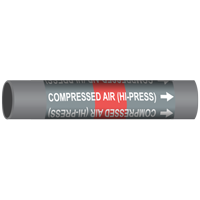 COMPRESSED AIR (HI-PRESS) Marine Pipe Marker