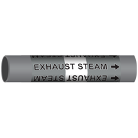 EXHAUST STEAM Marine Pipe Marker