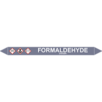 FORMALDEHYDE European Pipe Marker
