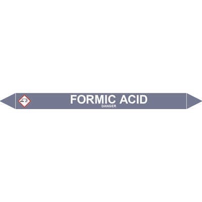 FORMIC ACID European Pipe Marker