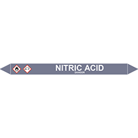 NITRIC ACID European Pipe Marker