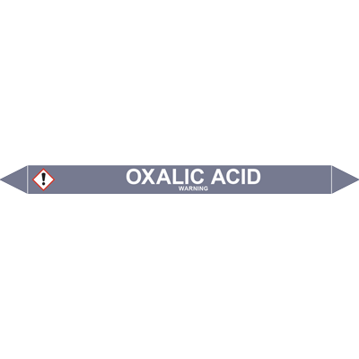 OXALIC ACID European Pipe Marker