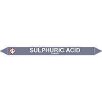 SULPHURIC ACID European Pipe Marker
