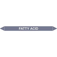 FATTY ACID European Pipe Marker