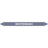 WHITEWASH European Pipe Marker