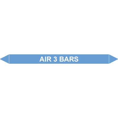 AIR 3 BARS European Pipe Marker