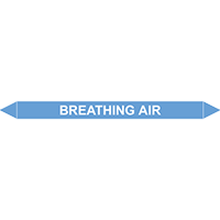 BREATHING AIR European Pipe Marker