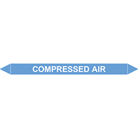 COMPRESSED AIR European Pipe Marker