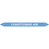 CONDITIONING AIR European Pipe Marker