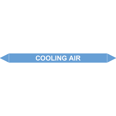 COOLING AIR European Pipe Marker