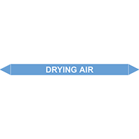 DRYING AIR European Pipe Marker