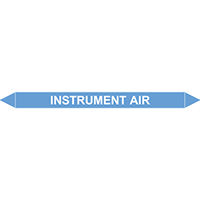 INSTRUMENT AIR European Pipe Marker