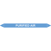 PURIFIED AIR European Pipe Marker