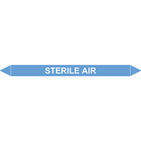 STERILE AIR European Pipe Marker