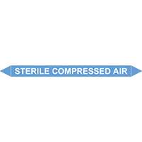 STERILE COMPRESSED AIR European Pipe Marker