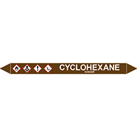 CYCLOHEXANE European Pipe Marker