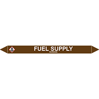 FUEL SUPPLY European Pipe Marker