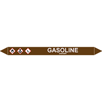 GASOLINE European Pipe Marker