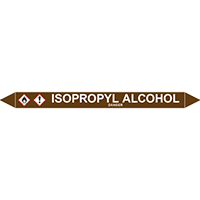 ISOPROPYL ALCOHOL European Pipe Marker