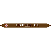 LIGHT FUEL OIL European Pipe Marker