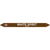 WHITE SPIRIT European Pipe Marker