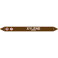 XYLENE European Pipe Marker