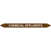 CHEMICAL EFFLUENTS European Pipe Marker
