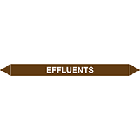 EFFLUENTS European Pipe Marker