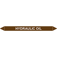 HYDRAULIC OIL European Pipe Marker