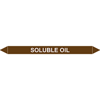 SOLUBLE OIL European Pipe Marker