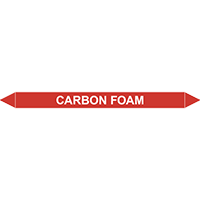 CARBON FOAM European Pipe Marker
