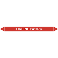 FIRE NETWORK European Pipe Marker