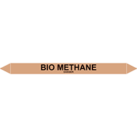 BIO METHANE European Pipe Marker