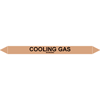 COOLING GAS European Pipe Marker