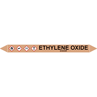 ETHYLENE OXIDE European Pipe Marker