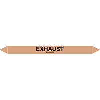 EXHAUST European Pipe Marker