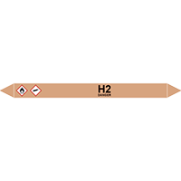 H2 European Pipe Marker