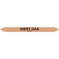 INERT GAS European Pipe Marker