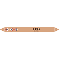 LPG European Pipe Marker