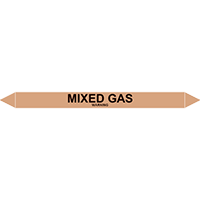 MIXED GAS European Pipe Marker