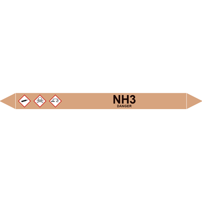 NH3 European Pipe Marker