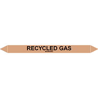 RECYCLED GAS European Pipe Marker
