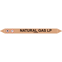 NATURAL GAS LP European Pipe Marker