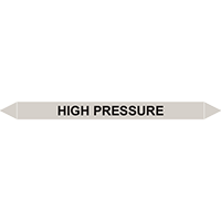 HIGH PRESSURE European Pipe Marker