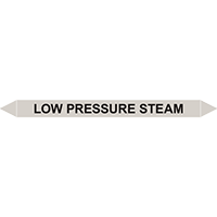 LOW PRESSURE STEAM European Pipe Marker