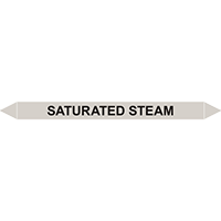 SATURATED STEAM European Pipe Marker