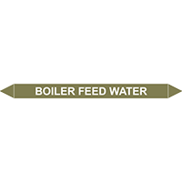BOILER FEED WATER European Pipe Marker