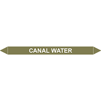 CANAL WATER European Pipe Marker